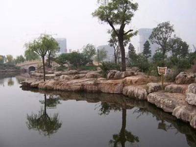 驳岸工程园林石