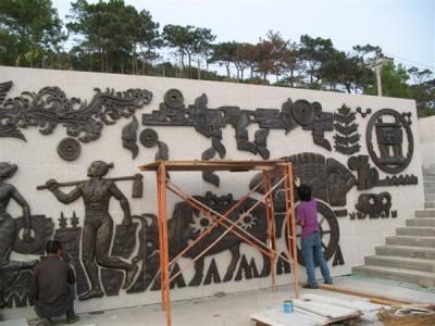 易县建坤大型铜浮雕
