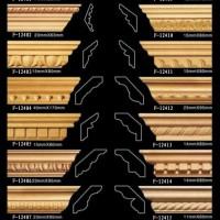 献华木雕 雕花木线加工定制