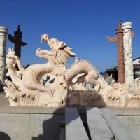 汇融园林雕塑动物雕塑石雕龙加工定制