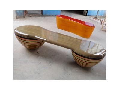 乾跃玻璃钢长凳雕塑加工定制价格详