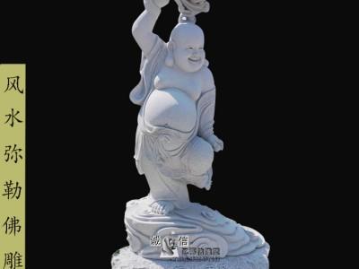 石雕土地公土地婆雕像汉白玉神话供