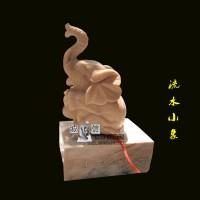 石雕大象汉白玉象吉祥如意象工艺品象室内室外欣赏庭院广场雕刻