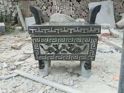 石雕仿古香炉
