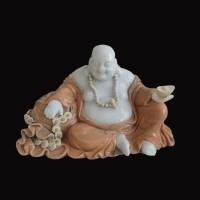 石雕弥勒佛小型工艺品
