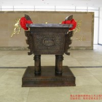 百年盛业铸铜宝鼎加工定制