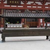 百年盛业铸铜香炉加工定制
