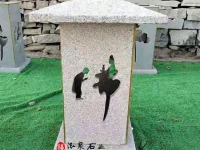 石雕石灯仿古照明雕塑