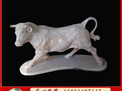 石雕小羊小型动物 工艺品雕塑