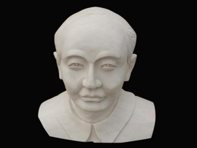 石雕名人胸像雕塑
