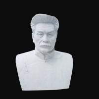 石雕鲁迅半身胸像雕塑