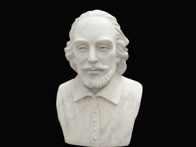 石雕名人胸像雕塑户外园林雕刻