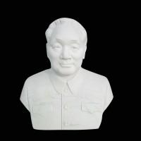 石雕半身胸像人物雕塑