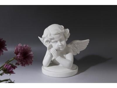 石雕汉白玉西方小天使雕塑