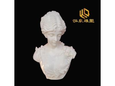 石雕西方人物胸像