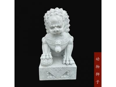 石雕小狮子动物雕塑