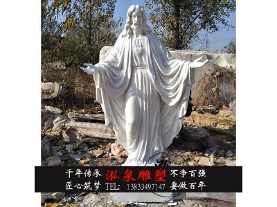 玻璃钢耶稣树脂仿铜圣母玛利亚雕塑