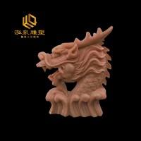 石雕龙头流水动物雕塑