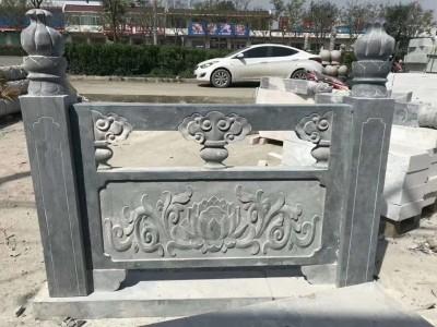 石雕栏板户外园林装饰雕塑