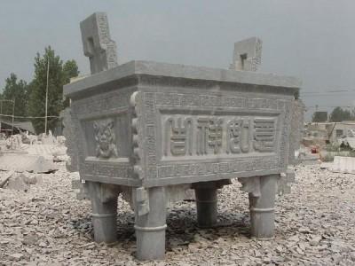 石雕香炉寺庙祠堂祭祀摆件