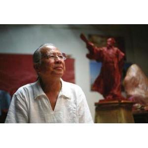 中国著名雕塑家:叶毓山