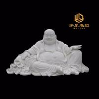 石雕弥勒佛佛像庭院工艺品寺庙雕塑