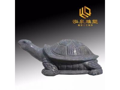 石雕乌龟青石流水动物雕塑