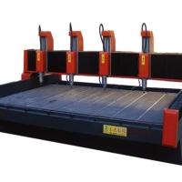 工大数控4020四头重型茶盘栏板石材雕刻机现货供应