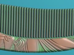 RYXLSZ002-仕女图梳子精雕图