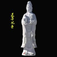 石雕滴水观音汉白玉佛像供奉大势至菩萨寺庙家用厂家直销