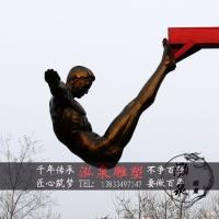 玻璃钢仿铜抽象人物雕塑跳水运动员体育运动主题公园广场景观摆件