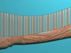 RYXLSZ015-古代美女梳子精雕图下载