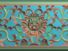 FDZW03-花形精雕图下载