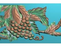 FDZW16-葡萄精雕图下载