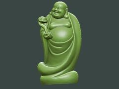 MLPS006-如意笑弥勒菩萨精品圆雕图如意笑弥勒菩萨雕刻图如意笑弥勒菩萨精雕图下载