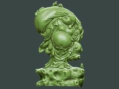MLPS011-布袋弥勒菩萨精品圆雕图布袋弥勒菩萨雕刻图布袋弥勒菩萨精雕图下载