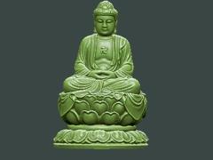 MLPS016-释迦摩尼佛精品圆雕图释迦摩尼佛雕刻图释迦摩尼佛精雕图下载