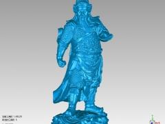 GG018-关公坐像圆雕图关公坐像三维雕刻关公坐像立体图关公坐像精雕图关公坐像四轴圆雕图关公坐像3D模型关公坐像stl图