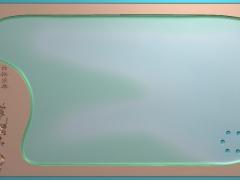 CP150竹梅报喜茶盘雕刻图案竹梅报喜茶盘灰度图竹梅报喜茶盘浮雕图竹梅报喜茶盘精雕图下载