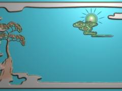CP174茶盘雕刻图案茶盘灰度图茶盘浮雕图茶盘精雕图下载