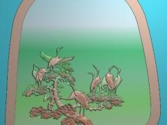 CP175茶盘雕刻图案茶盘灰度图茶盘浮雕图茶盘精雕图下载
