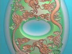CP177茶盘雕刻图案茶盘灰度图茶盘浮雕图茶盘精雕图下载