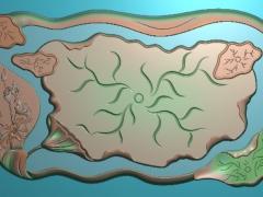 CP179茶盘雕刻图案茶盘灰度图茶盘浮雕图茶盘精雕图下载