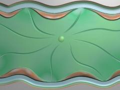 CP197荷叶茶盘雕刻图案荷叶茶盘灰度图荷叶茶盘浮雕图荷叶茶盘精雕图下载