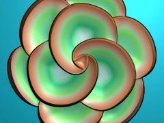 YB013花朵月饼模具雕刻图花朵月饼模具灰度图花朵月饼模具精雕图下载