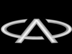 CB020奇瑞车标铜铝雕刻图奇瑞车标灰度图奇瑞车标浮雕图奇瑞车标精雕图下载地址