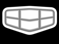 CB044帝豪车标铜铝雕刻图帝豪车标灰度图帝豪车标浮雕图帝豪车标精雕图下载地址
