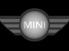 """CB057MINI车标铜铝雕刻图MINI车标灰度图MINI车标浮雕图MINI车标精雕图下载地址"""