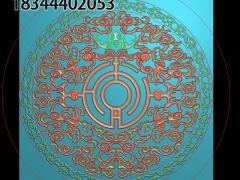 HRMB371门花图门板精雕图制作门板浮雕图门板缕空图门板电脑雕刻图带线门板精雕图下载地址