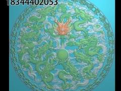 HRMB372门花图门板精雕图制作门板浮雕图门板缕空图门板电脑雕刻图带线门板精雕图下载地址